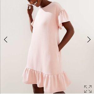 NWT Loft Flounce Dress